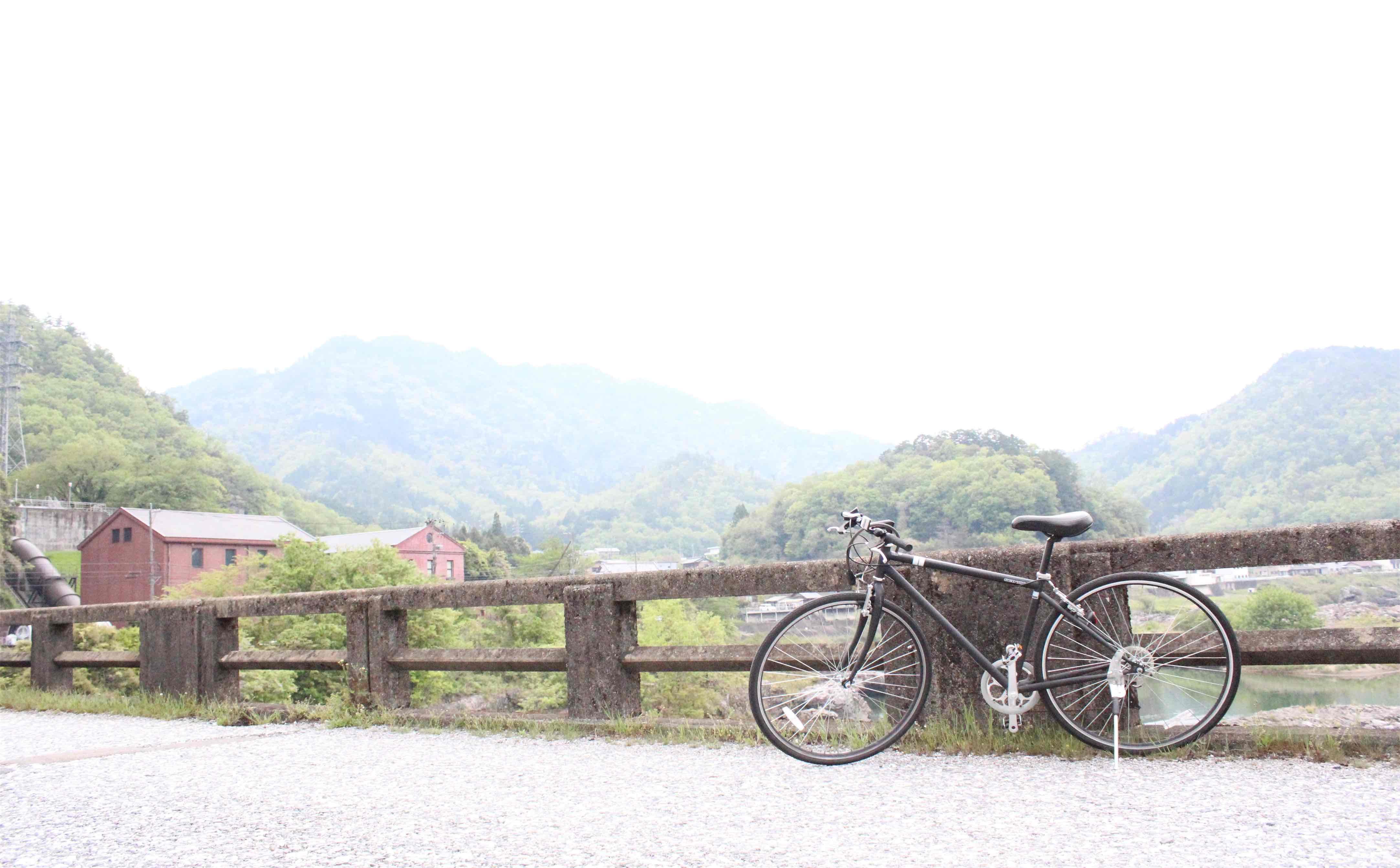 自転車がかっこよく撮れた